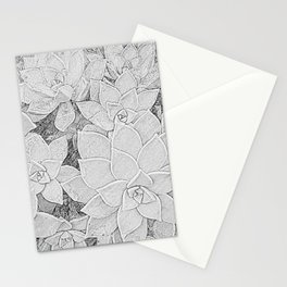 Stone Flowers Stationery Cards
