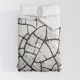 Crackled texture Comforters