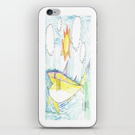 Introducing... Miss Cretaceous Cretoxyrhina iPhone Skin