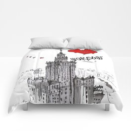 I love Warsaw  Comforters