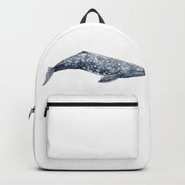 Mexico Grey whale Backpack
