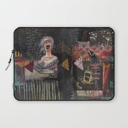 SAVE THE WOLF PUP FIRST Laptop Sleeve