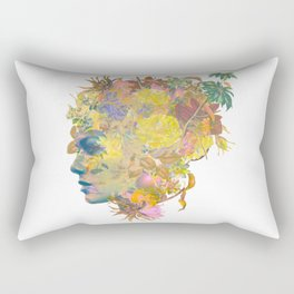 Tropical Woman Rectangular Pillow