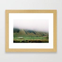 The mist over life Framed Art Print
