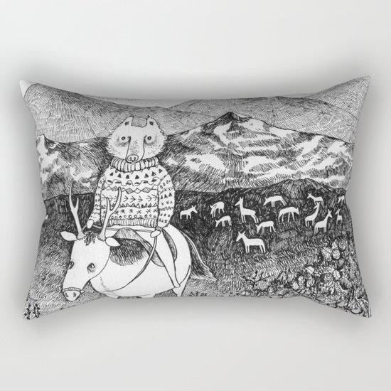 Sami fox Rectangular Pillow