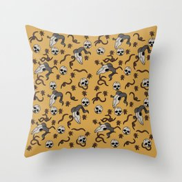 """""""Bewilder"""" Surface Design Throw Pillow"""