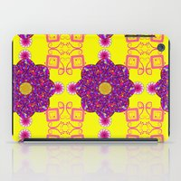psychadelic iPad Cases featuring Psychadelic Flora by Cynthia Squire