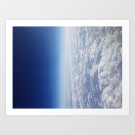 Into Space Art Print