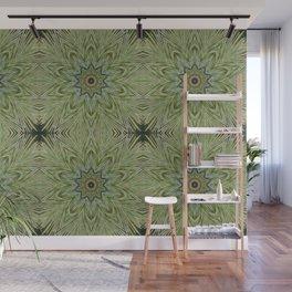 White pine kaleidoscope/mandala II Wall Mural