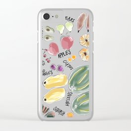 Nice Pair Clear iPhone Case