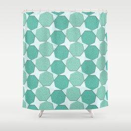 Geometrix LXXIX Shower Curtain