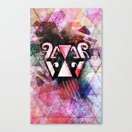 Unofficial Fever Ray Gig Poster Canvas Print