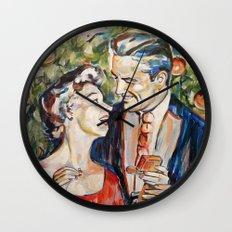 Mery christmas Wall Clock