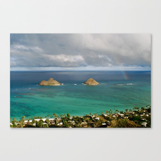 Mokulua Islands Canvas Print