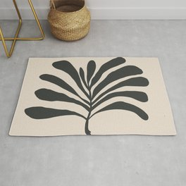thick palm Rug