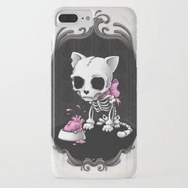 Bone Kitty iPhone Case
