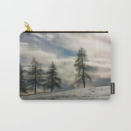 Snow and larch Carry-All Pouch