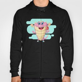 Dragon with Lollypop Candy Hoody