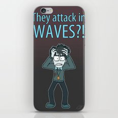 Guardian Ghost- THEY COME IN WAVES iPhone & iPod Skin