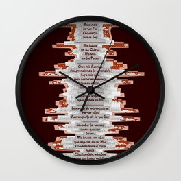 Totem 1 / Origen Wall Clock