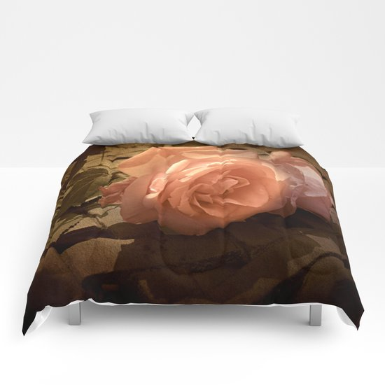 Rose Shadows Comforters