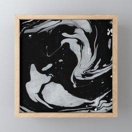 Marble Love 006 Framed Mini Art Print
