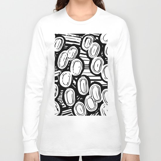 Let's go black&white Long Sleeve T-shirt