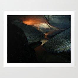 Sinks Cave 1 Art Print