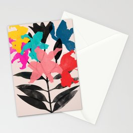 lily 9 Stationery Cards