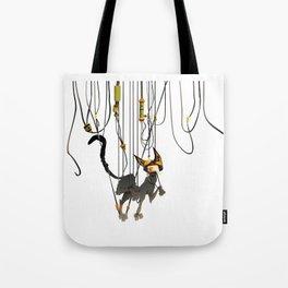 "Lili B. ""Entangled cat"" Tote Bag"