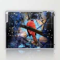 The Cardinals Land In Blue Laptop & iPad Skin