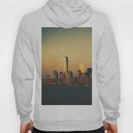 New York City Skyline - Dramatic Sunset Hoody