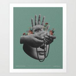 Faith Before Trust Art Print