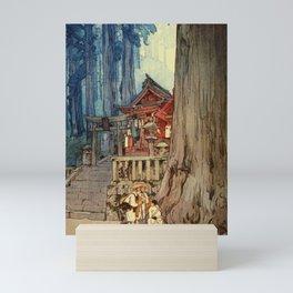 12,000pixel-500dpi - Yoshida Hiroshi - A Misty Day In Nikko - Digital Remastered Edition Mini Art Print