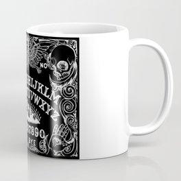 Ouija Board Black Coffee Mug