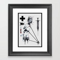 Nursing Composition II Framed Art Print
