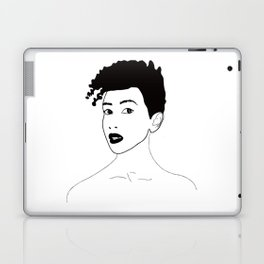 Simply black lady Laptop & iPad Skin