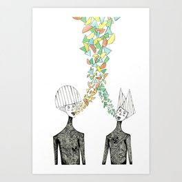 Shapemakers Art Print