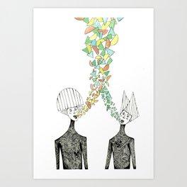 Shapemakers Art Print