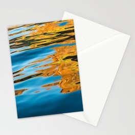 Golden Reflections Stationery Cards