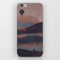Adrift in the Mountains... iPhone & iPod Skin
