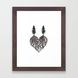 The Way I Love You (album cover for Corey Lewin) Framed Art Print