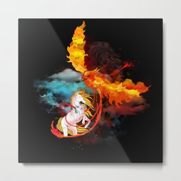 EPIC BATTLE OF COLORS Metal Print