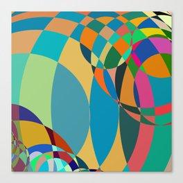 circle parts Canvas Print