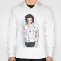 coconutwishes Hoodies featuring Harry 1D tattoos T-shirt by Coconut Wishes