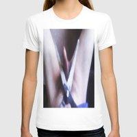 edward scissorhands T-shirts featuring EDWARD SCISSORHANDS by TARA SCHLAYER
