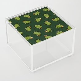 Frog Prince Pattern Acrylic Box