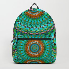 Geometric Mandala G388 Backpack