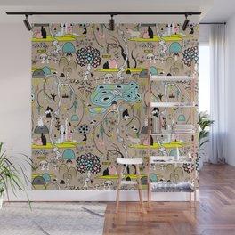 Magical Garden (Beige) Wall Mural