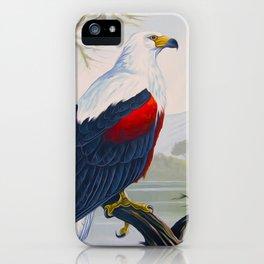 FISH EAGLE iPhone Case